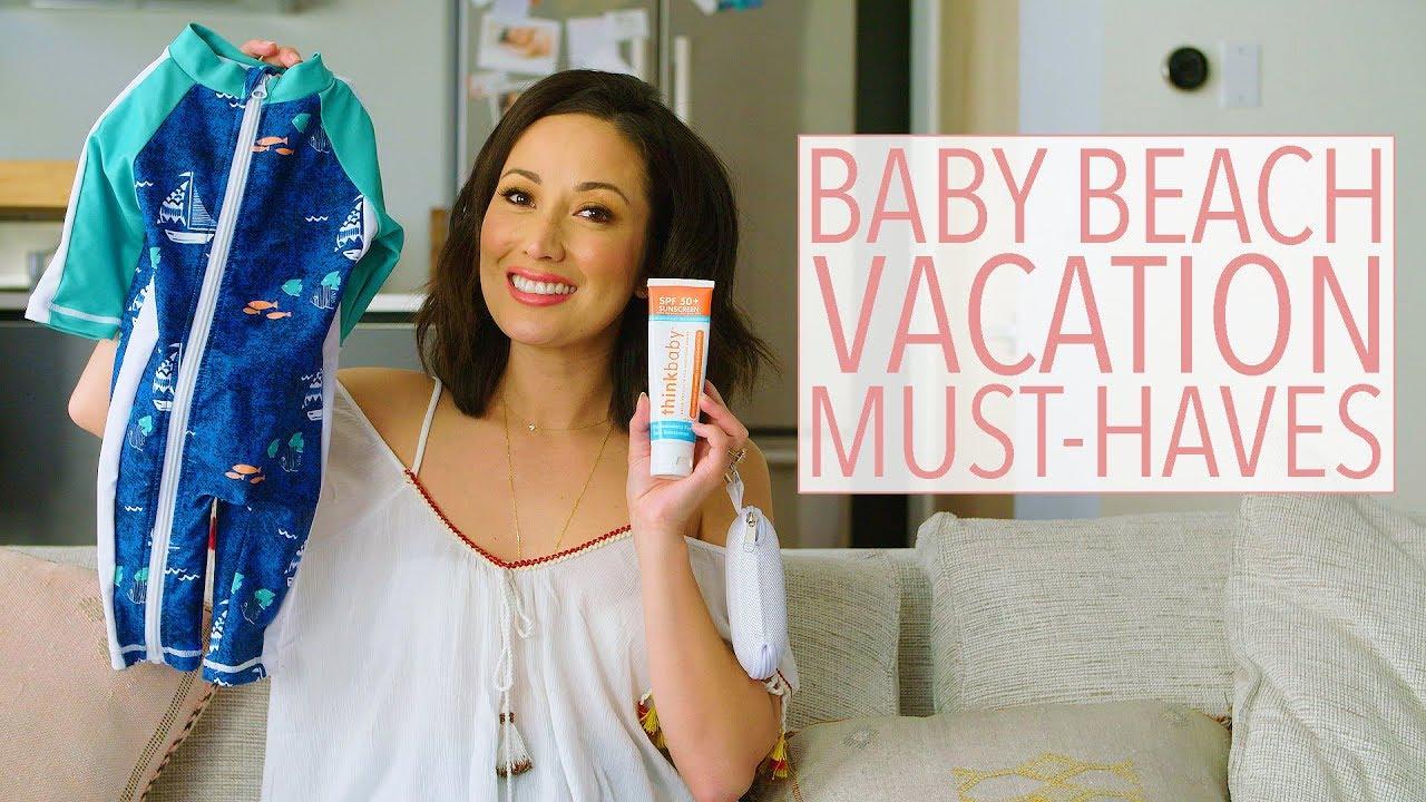 Baby Beach Vacation and Travel Must-Haves! | Kauai, Hawaii | Susan Yara