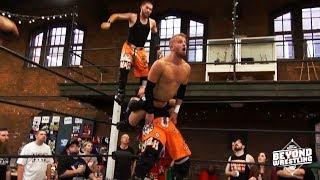 [Free Match] Da Hoodz vs. DL Hurst & Brett Domino | Beyond Wrestling (Tag Team, New England)