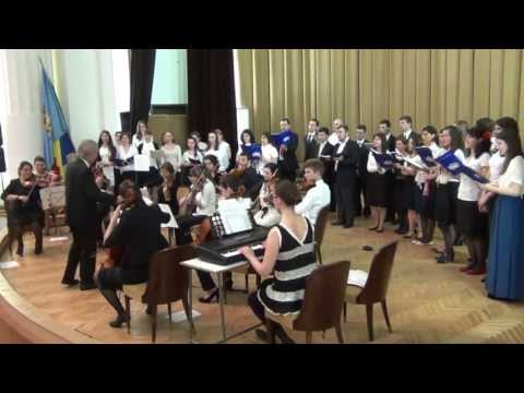 O, Sanctissima - Ludvig van Beethoven (2013.04.28, Universitatea București)