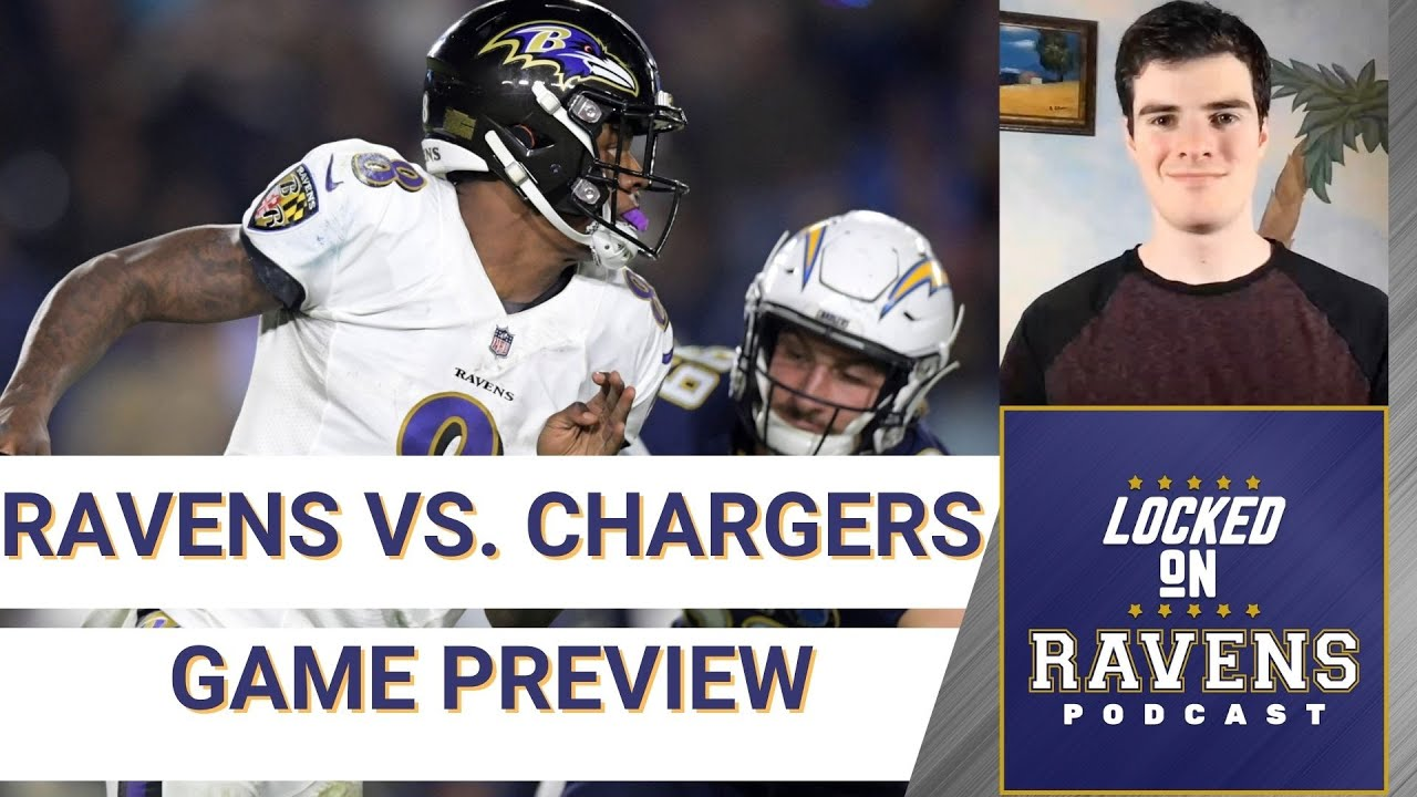 Chargers vs. Ravens live updates: Channel, time, score, stats ...