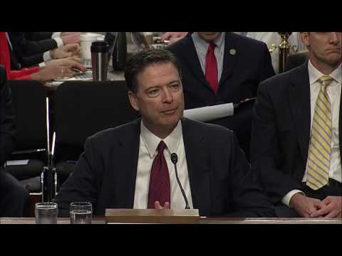 Martin Heinrich questions James Comey