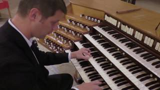 J.S. Bach/é Sinfonia Cantata 29  - Olivier Penin, Orgue Ste Clotilde Paris