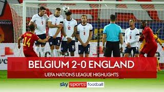 Belgium end England's Nations League hopes! | Belgium 2-0 England | UEFA Nations League Highlights
