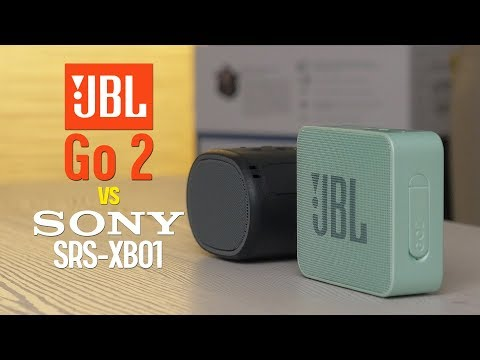 JBL Go 2 Vs Sony SRS-XB01 - SOUND TEST