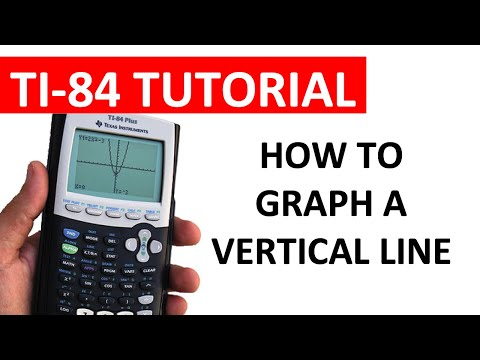 How to graph a vertical line on a ti 84 calculator youtube how to graph a vertical line on a ti 84 calculator ccuart Image collections