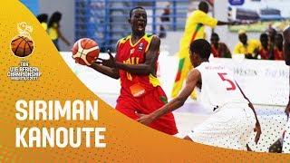 Siriman Kanoute (50 Points) v Mauritius - FIBA U16 African Championship 2017 thumbnail
