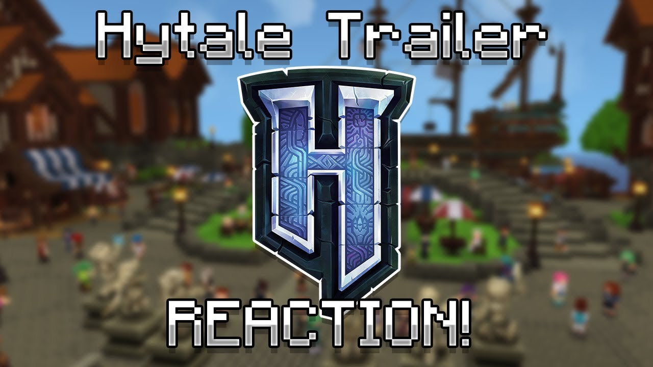 Hytale Trailer REACTION!! (Hypixel Standalone Game!)