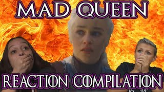 Game Of Thrones Season 8 Episode 5 | Mad Queen Massacre Reaction Compilation