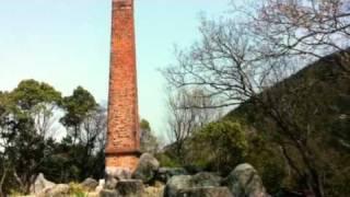 レンガ造りの古い煙突(オリジナル)