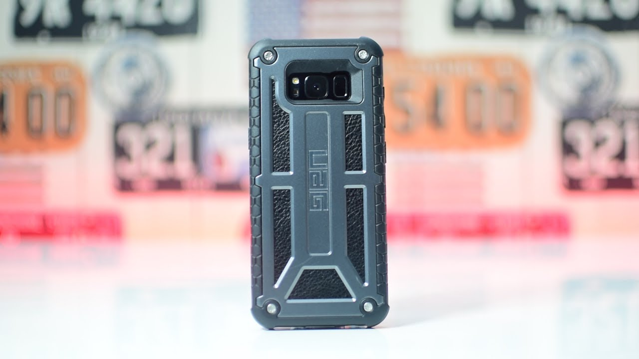 info for 38a26 3e551 Samsung Galaxy S8 UAG Monarch Case | Best Protective Case for S8?! (Urban  Armor Gear Monarch Series)