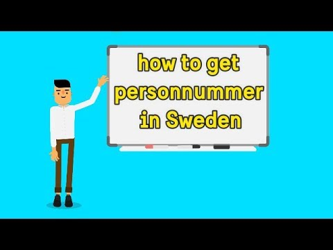 How to get personnummer in Sweden step by step guide (HOW-TO SWEDEN #1)