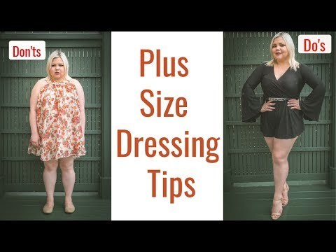 Style guide for plus size - Dressing tips Do's and Don'ts /UPDATED 2019. Http://Bit.Ly/2KBtGmj