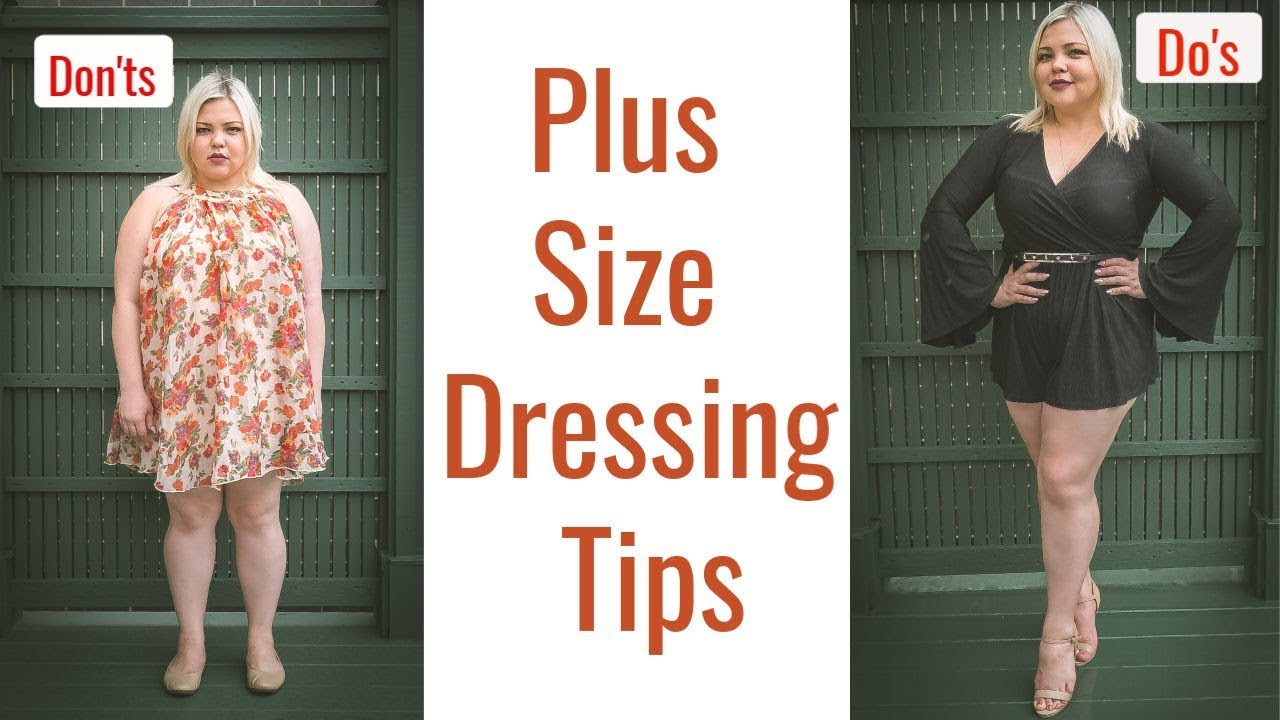 [VIDEO] – Style guide for plus size – Dressing tips Do's and Don'ts /UPDATED 2019