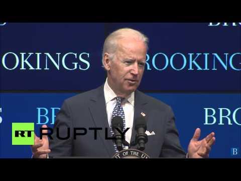 "USA: Putin leads a ""new and aggressive Russia"" - Joe Biden"