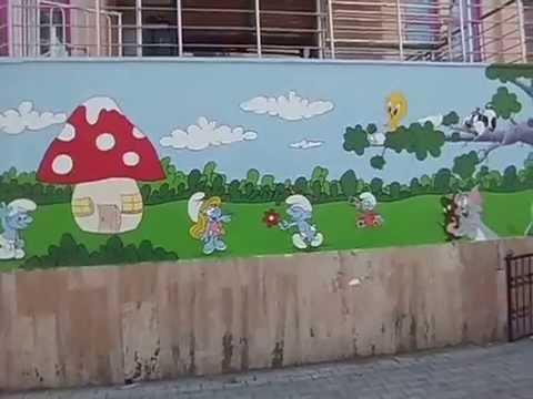 Anaokulu Duvar Süslemesi Youtube