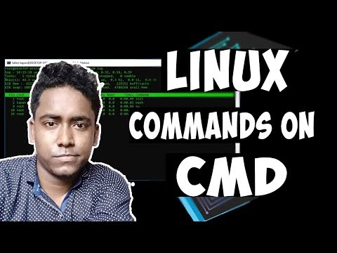 How To Run Linux Commands On Windows 10 CMD