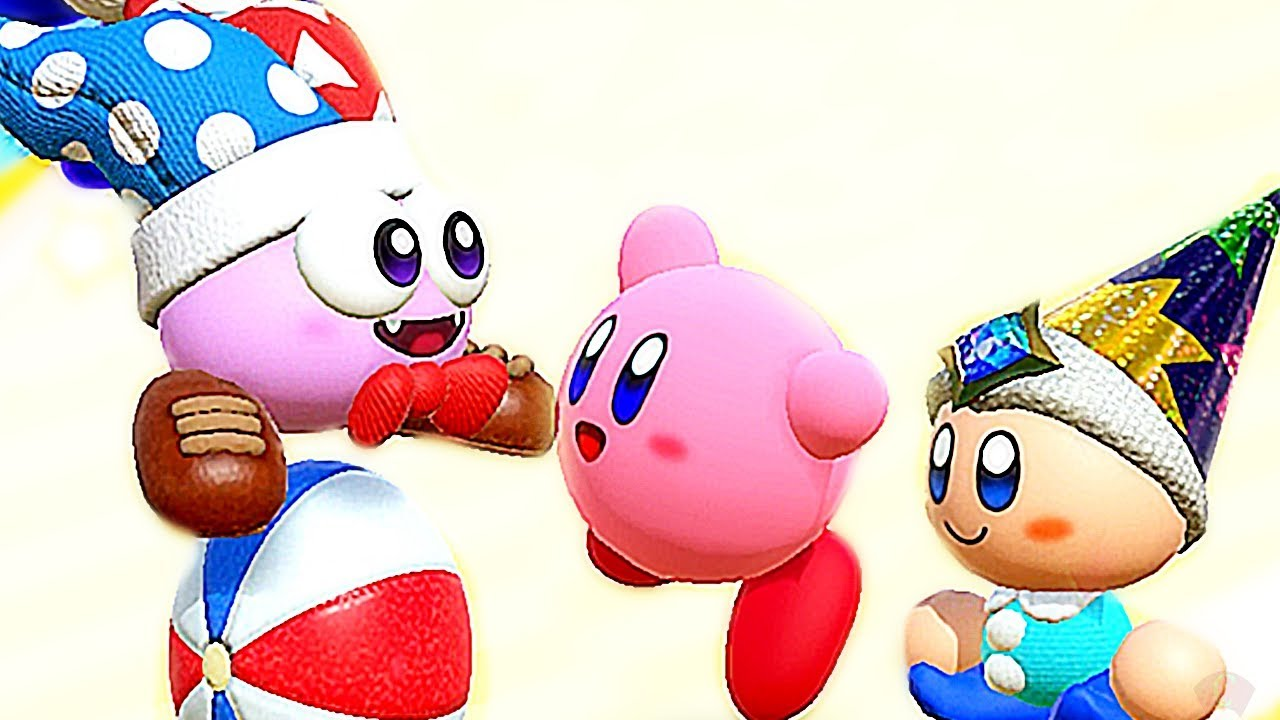 Easter Egg & Kirby Star Allies All Title Screen Intros Animations