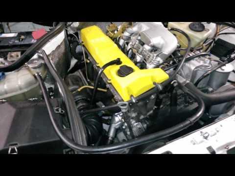 190d 2,5 Turbo First Run OM602 Turbo Intercooler - YouTube