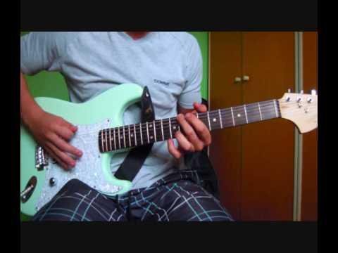 Blink 182 stockholm syndrome guitar cover