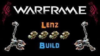 [U21.3] Warframe - Lenz - The AoE Bow [3-4 Forma] | N00blShowtek