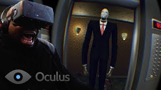 Oculus Rift DK2 Virtual Reality - QJBald So Scared Almost Peed Pants (Elevator Horror) @oculus