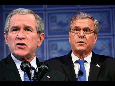 Jeb Bush Wants To Continue His Brother's Iraq War