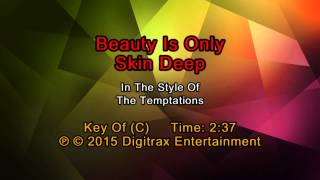 The Temptations - Beauty Is Only Skin Deep (Backing Track)