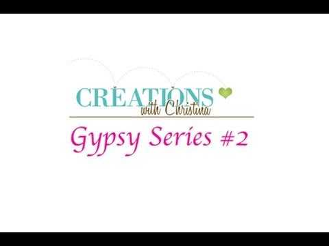 Gypsy Series #2 Uploading Cartridges