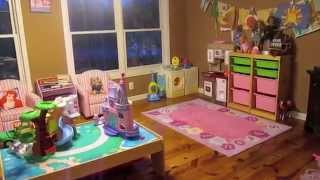 Playroom Organization: Deciding when to get rid of BABY toys!