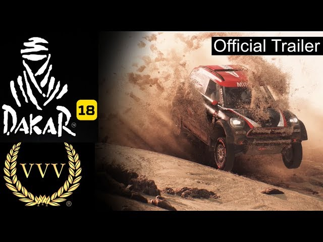 Dakar 18 CGI Announcement Trailer
