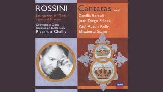 Rossini: Le nozze di Teti e Pelo - cantata - Recit: Tanto può dunque