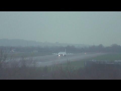 British Airways emergency landing heathrow airport with ATC