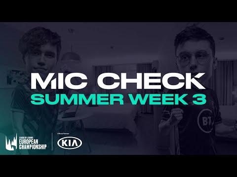 Kia #LEC Mic Check: Week 3 (Summer 2020)
