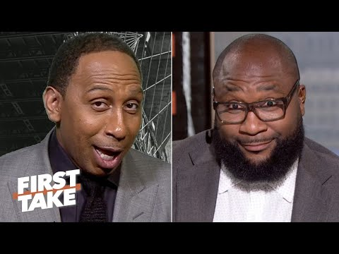 Stephen A. doesn't like the Patriots atop Marcus Spears' NFL Week 8 Power Rankings | First Take