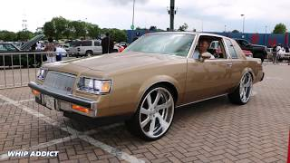 "WhipAddict: 86' Buick Regal T-Type on 24"" US Mags with 6.0 LQ9 Motor, Burnout Vid"