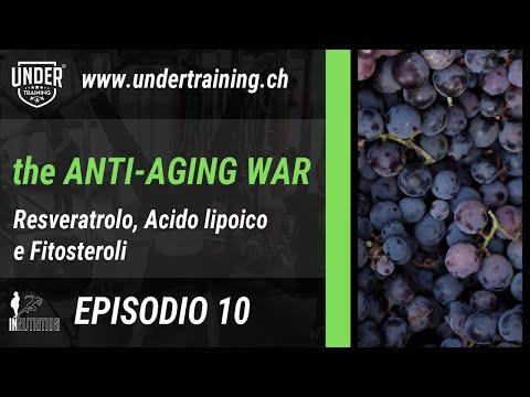 The Anti-Aging War - Episodio 10 - Resveratrolo, Acido lipoico e Fitosteroli