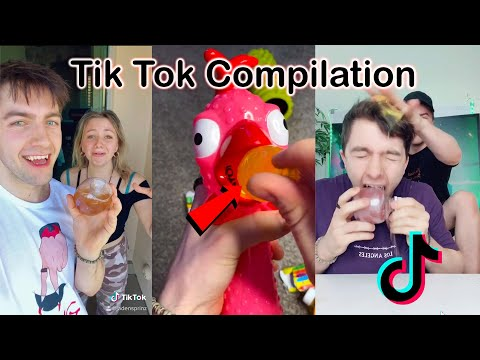 Tik Tok Compilation (Tiktok Apple, Jelly Fruit, Baby Tries, Nik Lip, Vampire, Fang gang)