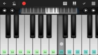 Samandar Main Kinara Tu Piano Tutorial || Shreya Ghoshal || - Mobile Perfect Piano Tutorial