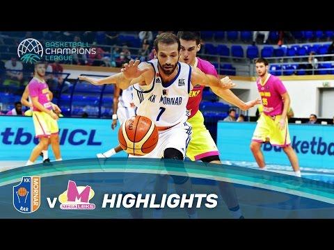 KK Mornar v Mega Leks - Highlights - Basketball Champions League