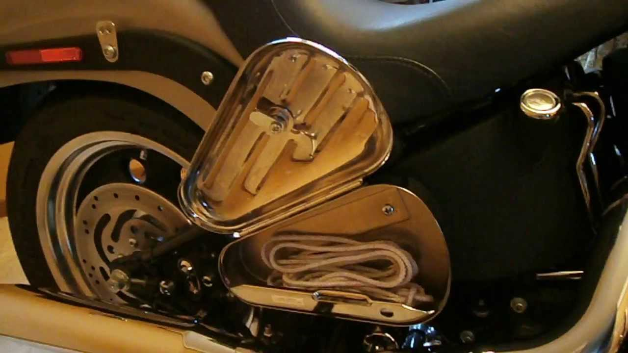 Harley Davidson Tool Box For Softail Right Side