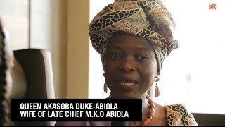 """Buhari Is From Niger Delta"" -Queen Akasoba Duke-Abiola"