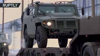 GAZ Tigr close-up: See how Russian military vehicles are produced