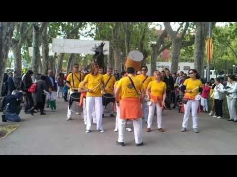 TAM TAM LLOPS jordiada 2013 samba reggae