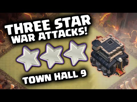 Clash of clans best town hall 9 war strategies