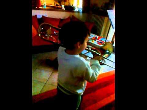 Ottolini Morris al trombone - Musica Temporanea