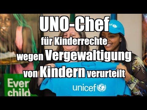 UNO-Chef für Kinderrechte wegen Vergewaltigung von Kindern verurteilt