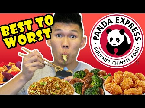PANDA EXPRESS: ALL MENU ITEMS RANKED! Life After College: Ep. 514