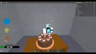 Roblox, Make a Cake: Back for seconds, The Cake is a lie (Badge)