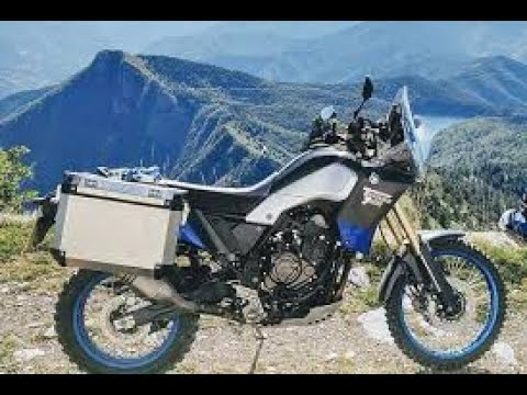 2021 Yamaha Tenere 700 with Panniers - Auto Club at Long Beach Motorcycle Show