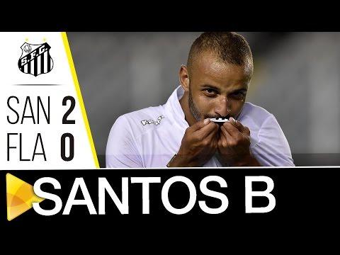 Santos B 2 x 0 Flamengo-SP | Copa Paulista (17/07/16)